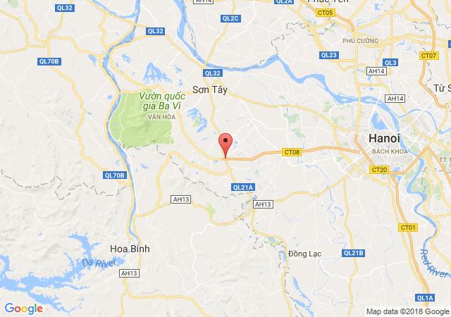 Bán gấp lô đất thổ cư, đất trang trại 40 sào tại Tiến Xuân, Thạch Thất, Hòa Lạc - 0968.175.786