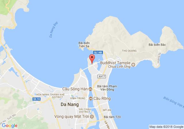 Aqua Marine Đà Nẵng - vị trí đắc địa tại Đà Nẵng nơi sống và kinh doanh quý giá.