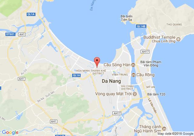 Cho thuê nhà mặt tiền đường Đỗ Quang, Thanh Khê Đà Nẵng. liên hệ 0907 248 013