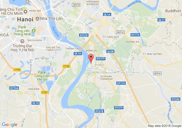 Cho thuê kho, xưởng tại Cụm CN Bát Tràng (sau khu Ecopark)