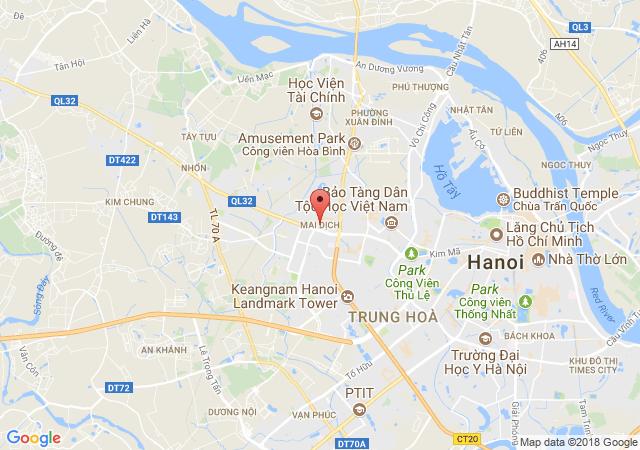 Cho thuê nhà mặt phố tại phố Đỗ Quang