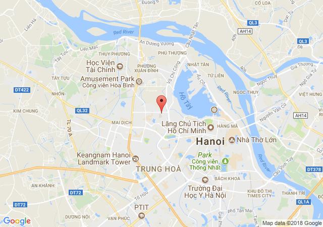 Nhượng QSD 100m2 đất mặt phố Võ Chí Công, mặt tiền 6m, vị trí đắc địa Quận Cầu Giấy, Hà Nội