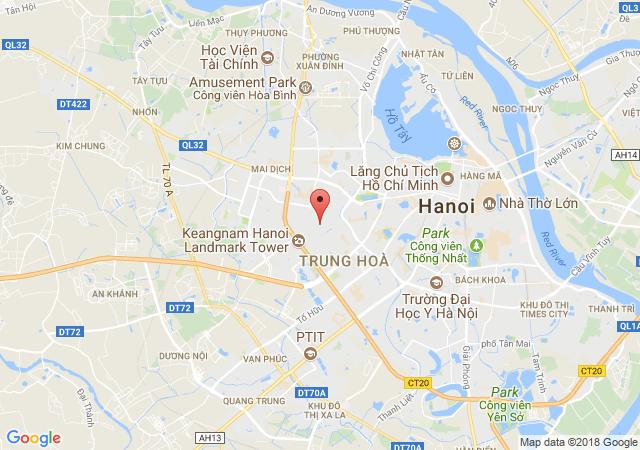 Cho thuê nhà mặt phố Trung Kính, Cầu Giấy.diện tích: 50m2x4 tầng. mặt tiền: 5m, Giá:52 triệu/tháng