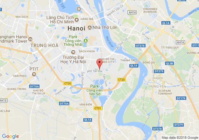 Bán biệt thự, liền kề tại Dự án Nam Đô Complex, Hoàng Mai, Hà Nội, giá bán 14.36 tỷ
