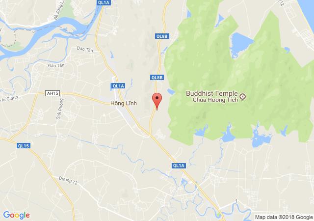 Cần bán gấp lô đất 100m2 trên QL1A, tại xã Thạch Trung, Hà Tĩnh