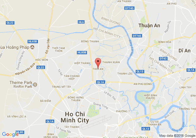 Bán nhà riêng tại đường Thới An 9, Quận 12, Hồ Chí Minh, diện tích 60m2, giá bán 2.55 tỷ