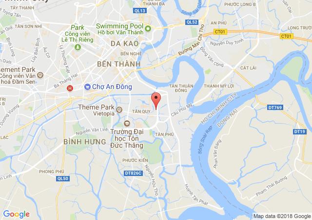 Cho thuê nhà hẻm Huỳnh Tấn Phát, Q.7, liên hệ 0932.002.542 Hồng