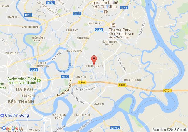 Bán nhà mặt phố tại Phường Phước Long B, Quận 9, Hồ Chí Minh diện tích 245m2 giá bán 135 Triệu/m²