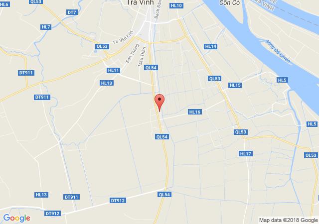 Bán đất thổ cư gần công viên phường 1 Tp Trà Vinh