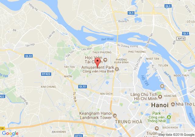 Bán nhà mặt phố tại Đường Trần Cung, Phường Cổ Nhuế 2, Quận Bắc Từ Liêm, Hà Nội, giá bán 10 tỷ