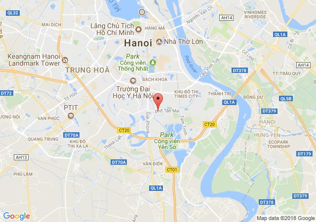 Bán nhà riêng tại Đường Trương Định - Quận Hoàng Mai - Hà Nội, giá bán 5.5 tỷ