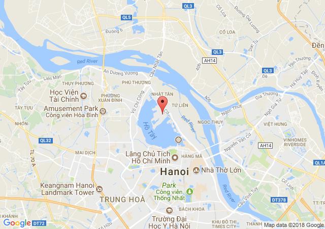 Cho thuê nhà biệt thự sân vườn mở nhà hàng mặt phố Tô Ngọc Vân, Tây Hồ , Hà Nội