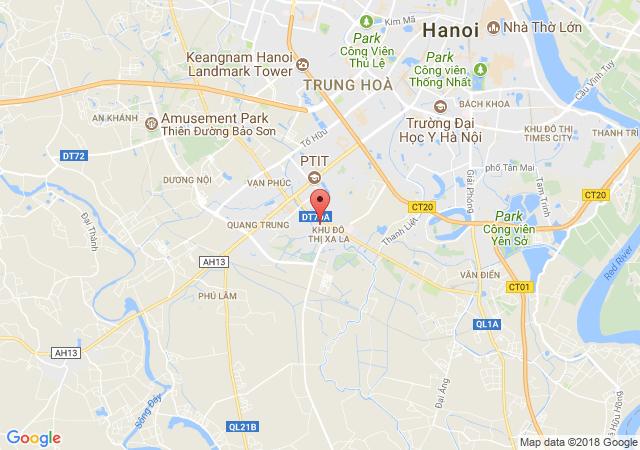 Bán đất khu đô thị Xa La, Phường Phúc La, Quận Hà Đông, Hà Nội
