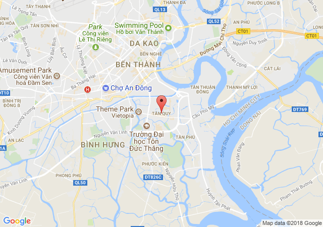 Cho thuê phòng trọ, chung cư cao cấp tại Tân Quy, Q.7, TP.HCM