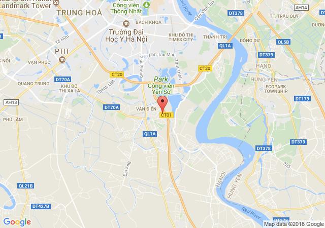 Bán đất tại Đường Cổ Điển A, Xã Tứ Hiệp, Thanh Trì, Hà Nội, giá bán 5 tỷ