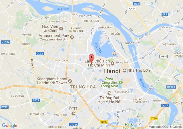 Chính chủ cần bán gấp lô đất đường trong khu đô thị Sudico Sông Đà Vạn Phúc Hà Đông diện tích 72m2(5*14m), lô góc 3 mặt thoáng