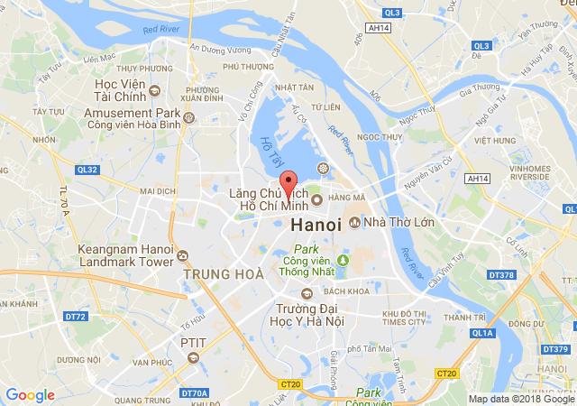 Bán căn hộ chung cư tại Đường Hoàng Hoa Thám, Phường Đội Cấn, Quận Ba Đình, Hà Nội, giá bán 1.1 tỷ