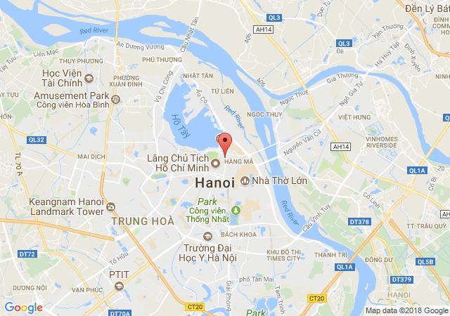 Gia đình cần bán đất sổ đỏ chính chủ khu tập thể 20 Đặng Dung, Ba Đình, Hà Nội