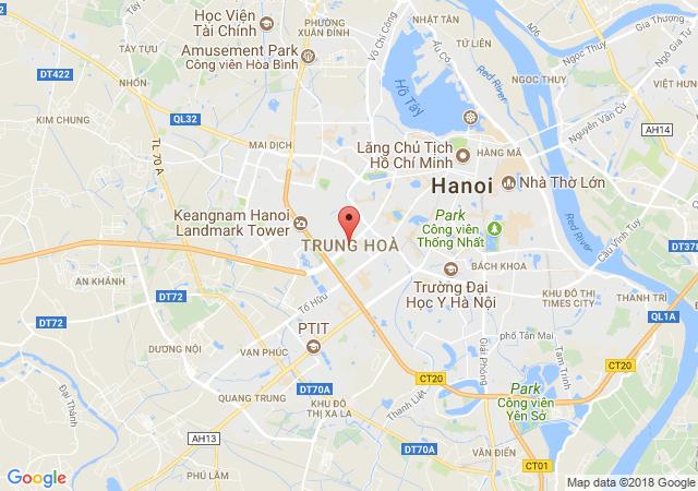 Cho thuê nhà mặt phố Đỗ Quang, diện tích 90m2, lô góc 5x15m