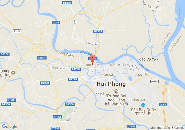 Bán nhà 3 tầng Thượng Lý - Hồng Bàng, giá bán 1 tỷ 650 tr