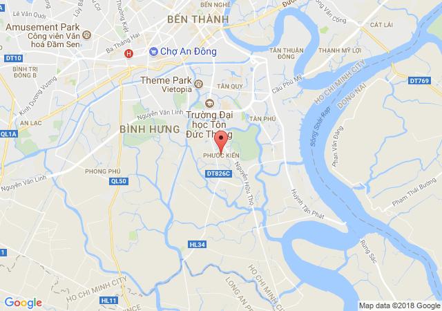 Bán đất tại Xã Phước Kiển, Nhà Bè, Hồ Chí Minh diện tích 7310m2 giá bán 1.9 Triệu/m²