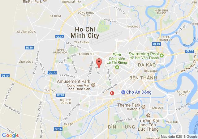 Bán nhà mặt tiền Gò Cẩm Đệm, Tân Bình, diện tích: 4x16m, 3 lầu, 7 tỷ