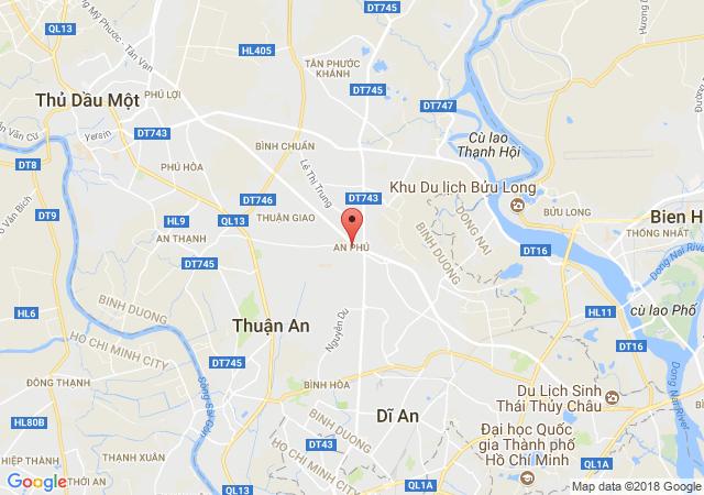 Bán đất Thuận An, gần QL13, gần Aeon, giá rẻ, thuận tiện ở và đầu tư